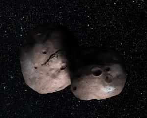 2014 MU69, a ball of ice and rock about four billion miles from Earth, is the next target for New Horizons