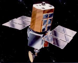 Artist's concept of Solar Max in orbit