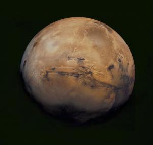 Valles Marineris on Mars