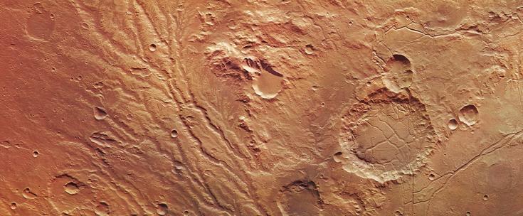 The Arda Valles region of Mars