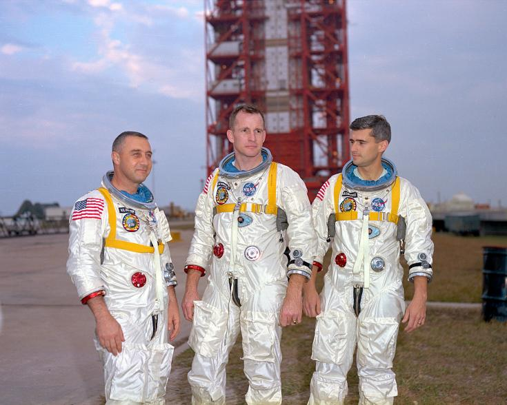 The crew of Apollo 1