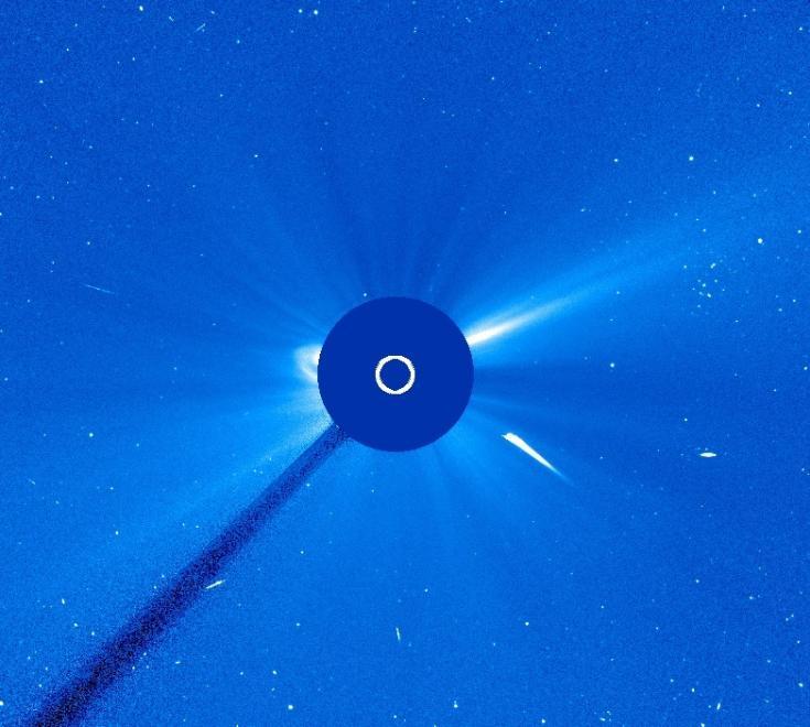 SOHO view of a Kreutz Sun-grazing comet