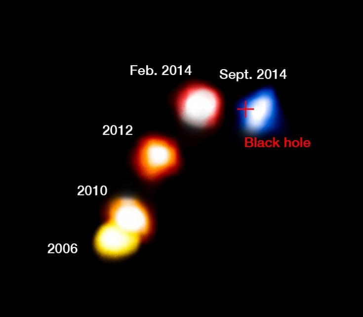 G2 survives its swing around the black hole at the center of the Milky Way