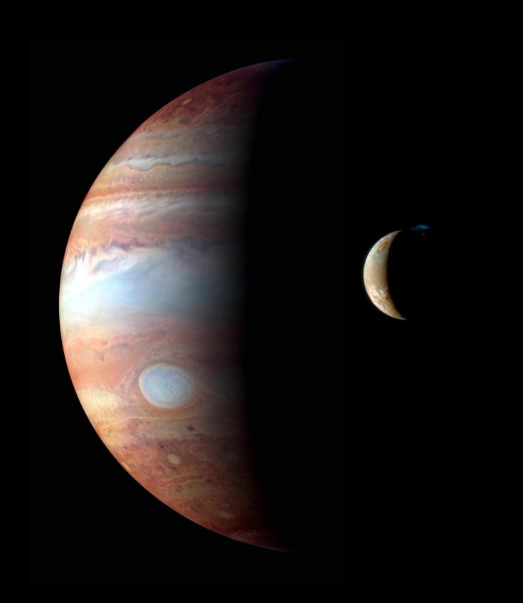 Io and Jupiter