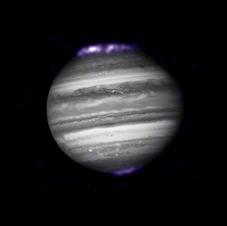 Auroras on Jupiterk
