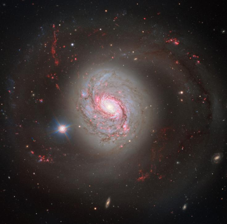The spiral galaxy Messier 77
