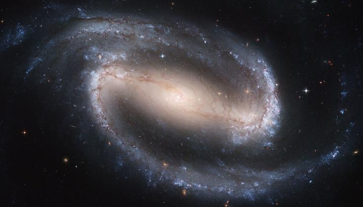 Hubble Space Telescope view of the galaxy NGC 1300
