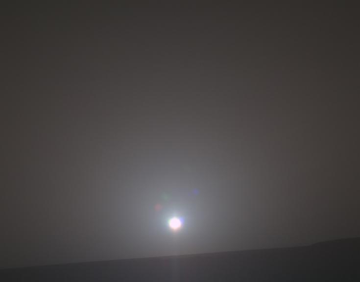 Sunrise on Mars, February 16, 2018