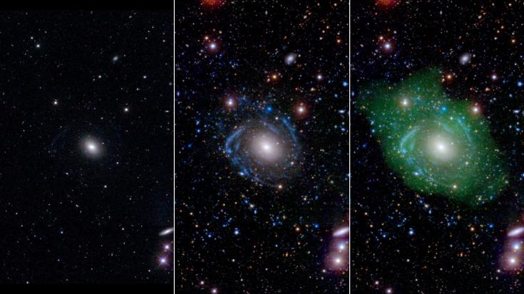 multi-wavelength views of the giant galaxy UGC 1382