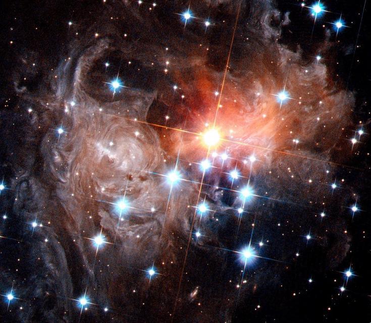 Hubble Space Telescope view of V838 Monocerotis in 2006