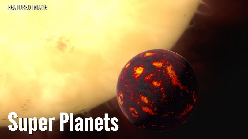 A hot super-Earth