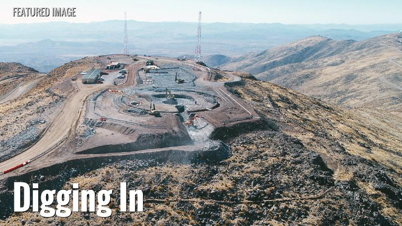Future site of the Giant Magellan Telescope in Chile