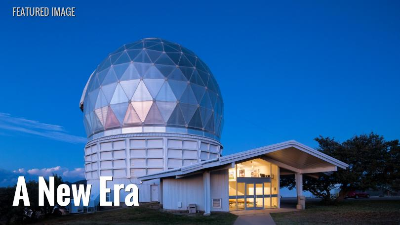 Evening view of Hobby-Eberly Telescope at McDonald Observatory