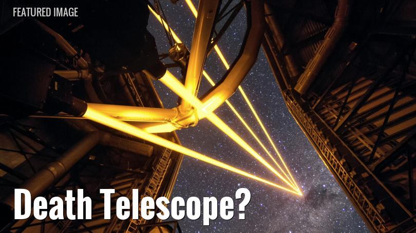 Laser adaptive optics system in Chile