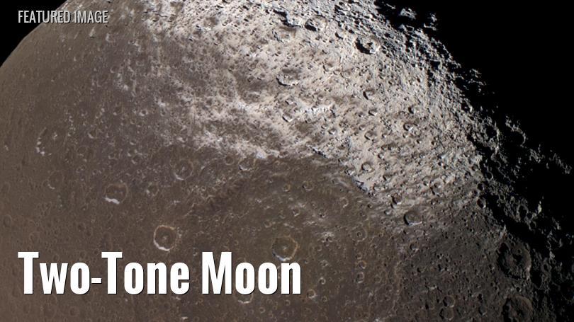 Saturn's two-toned moon, Iapetus