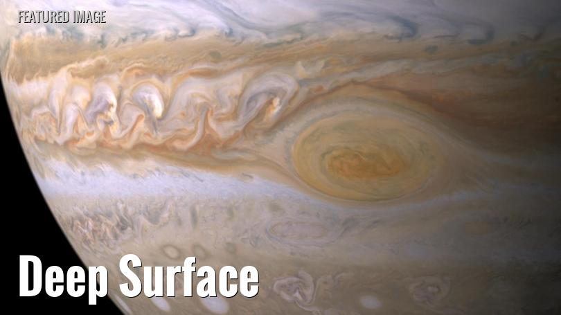 Jupiter's Great Red Spot and surrounding cloud bands