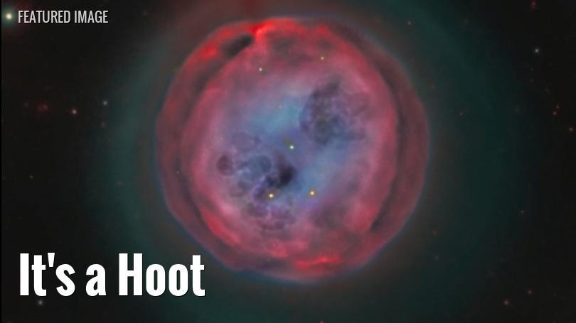 M97, the Owl Nebula, in Ursa Major