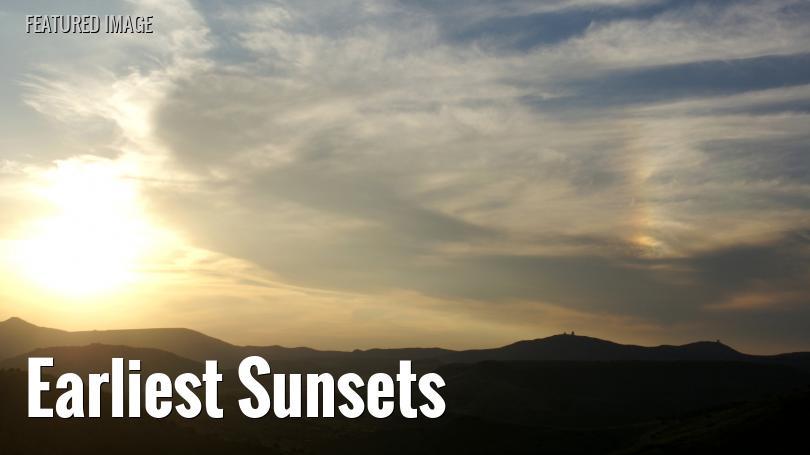 Sunset over the Davis Mountains