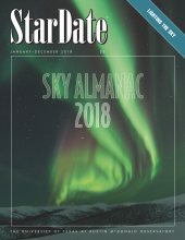 cover of 2018 Sky Almanac