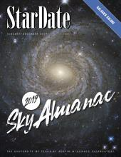 cover of the 2019 Sky Almanac