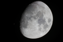 Moon-Aldebaran occultation