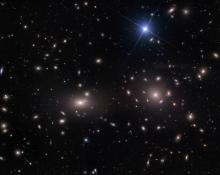 Ground-based view of Coma cluster of galaxies