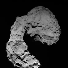Comet 67/P Churyumov-Gerasimenko on September 29