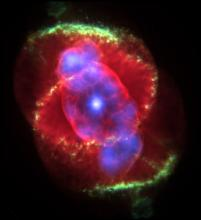 NGC 6543, the Cat's Eye Nebula