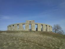 Stonehenge replica in the state of Washington