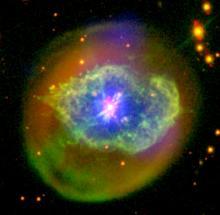 Abell 78, a planetary nebula
