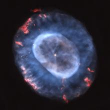 The Blue Snowball Nebula