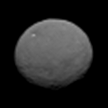 Dawn image of Ceres, January 25, 2015