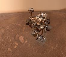 Curiosity rover self-portrait, January 2019