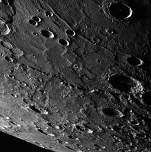 View of Mercury from Messenger spacecraft