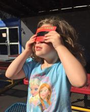 Proper eye protection is needed for safe eclipse viewing