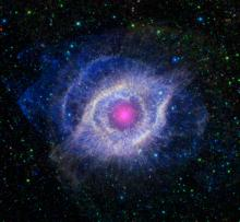 Multi-spectral view of the Helix Nebula