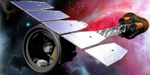 new space telescope looking at a nebula