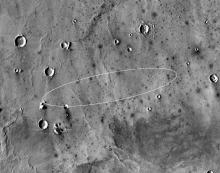 InSight landing site