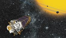 Artist's concept of Kepler Space Telescope