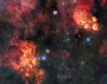 NGC 6334 and NGC 6357