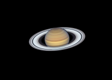 Saturn from Hubble Space Telescope