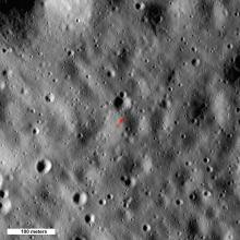 Selenean Summit, the highest point on the Moon