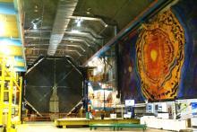 View of the underground Soudan Laboratory