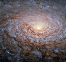 Hubble Space Telescope view of M63