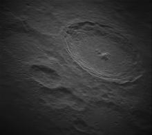 radar view of Tycho Crater