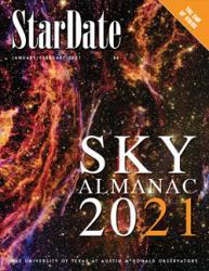 cover of 2021 Sky Almanac